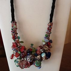 Another Kumihimo Necklace