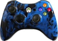 Custom Xbox 360 Controller Blue Fire Special Edition by Evil Controllers http://www.newlimitededition.com/custom-xbox-360-controller-blue-fire-special-edition-by-evil-controllers/ Evil Controllers is the industry leader of customized gaming equipment. Custom Controllers are available from Evil Controllers for Xbox 360, Xbox One, PlayStation 4 and the PlayStation 3. With an Evil Controller, take your gaming to the next level! Xbox 360 Wireless Controllers help you get into the game li..
