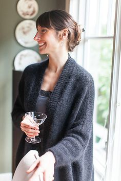 Ravelry: Modern Wrapper pattern by Churchmouse Yarns and Teas