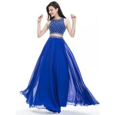 Vestidos de Festa Longos Tons de azul Pole Modas