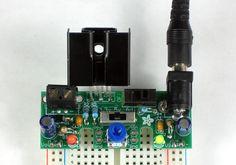 Adjustable Breadboard Power Supply Kit