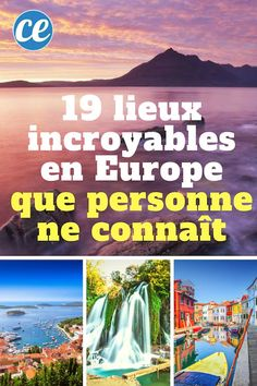 19 Incredible Places In Europe That No One Knows. Week End Europe, Road Trip Europe, Places In Europe, Backpacking Europe, Portugal Travel, Ireland Travel, California Places To Visit, Santorini, Destination Voyage