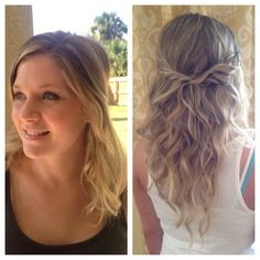 Before After Hair Extensions Team Bride Fl 888 518 1118 By