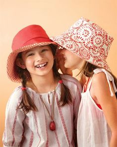Как сшить панаму. How to sew a two-way hat?