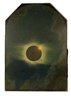Solar eclipse as seen from Lompoc, California, 1923