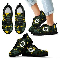 Military Background Energetic Green Bay Packers Sneakers – Best Funny Store Pittsburgh Pirates, Pittsburgh Penguins, Houston Texans, Boston Bruins, Unique Shoes, Kansas City Chiefs, Green Bay Packers, Snug Fit, Hiking Boots