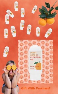 Recieve a FREE hand sanitizer with any $75 purchase! #greenskincare  #handsanitzer #greenbeauty #orangeoil #clean #cleanbeauty #summertime Organic Skin Care, Natural Skin Care, One Love Organics, Cleansing Gel, Orange Oil, How To Make Homemade, Beauty Shop, Alcohol Free, Clean Beauty