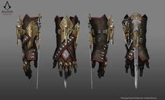 ArtStation - Assassin's Creed Syndicate, Grant Hillier Assassins Creed Jacob, Assassins Creed Odyssey, Assassins Creed Costume, Armor Concept, Weapon Concept Art, Assassin's Creed Gauntlet, Assasins Cred, Wonder Woman Fan Art, Assassin's Creed Hidden Blade
