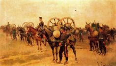 josep cusachs pintor - Buscar con Google Montpellier, Academia Militar, Camel, War, Painting, Animals, Google, Military Pictures, Murals