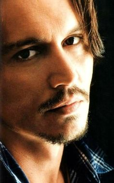 Most celebrities would get nervous at the thought of such a close-up, but not Johnny Depp!