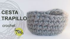 Tutorial Cesta Trapillo Crochet XXL