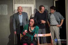 'Dinner für Spinner' im KiStL Hinterhoftheater - wegen Erfolges verlängert Theater, Graz, Environment, Photo Shoot, Theatres, Teatro, Drama Theater