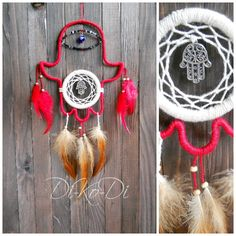 "Dreamcatcher - the main Keeper of the dream. If above your bed hangs a dream Catcher, you'll never see nightmares. The catcher in the nursery will give your child a sound sleep and sweet dreams.    The amulet will also serve as a decor of the main room of your home or decorate your shop window.    The Dreamcatcher can be hung on the wall above the bed or over a sofa, and can be hung over a child's bed (if it is mobile). Storefront will look more original than the competition ;)    ""The…"