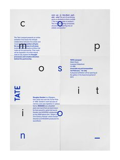 Composition by Glen Thorpe, via Behance