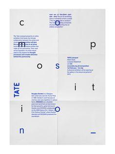 Composition by Glen Thorpe, via Behance