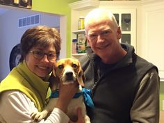 ADOPTED!Roscoe with his new mom and dad! He is going to have a wonderful life with them! Everyone involved was soooo excited! I am so happy for Roscoe and his new owners! They were a perfect match!!! 12-20-14 LDDR!In Michigan.