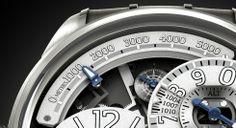 Breva | The Génie02 Terre altimeter. #breva #watch #genie02