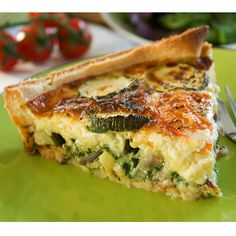 Zucchini Quiche Recipe from The Italian Kitchen
