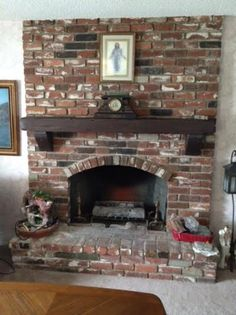 Reclaimed Wood Mantel with matching corbels in Rustic Kona finish Reclaimed Wood Mantel, Wood Mantels, Fireplace Mantels, Rustic Wood, Fireplaces, Wood Accents, Stoves, Beams, Design