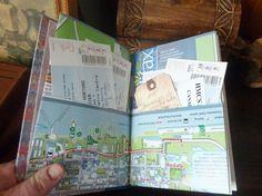 My Handbound Books - Bookbinding Blog: A new travel journal