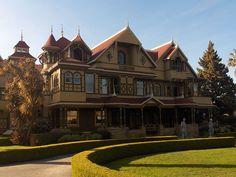 Winchester Mansion I will visit someday! This house fascinates me!