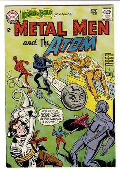 Metal Men and The Atom