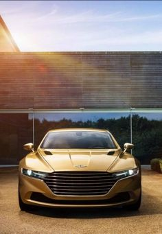 OMG! Badass Cars not available in the USA! I can't believe we're missing out on this Aston Martin Lagonda Taraf...