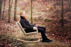 HALUZ rocking-chair - Studio Vacek