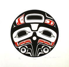 Reg Davidson ( Haida )  - Eagle