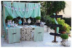 magicevents::Στολισμός βάπτισης Little man Little Man, Event Design, Bloom, Baby Shower, Table Decorations, Flowers, Diy, Home Decor, Baby Sprinkle Shower
