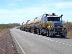 Mack Truck road train