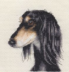 SALUKI-dog-puppy-Full-counted-cross-stitch-kit-all-materials
