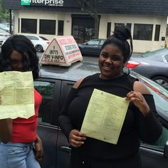 Nikita took 16 #lesson & menelik did our 4 package.  Both are not #licensed to #drive #Queens #NewYork #streets.  #access2drive #drivingschool #learntodrive #teamaccess #welovewhatwedo  www.drivingschoolsqueens.com