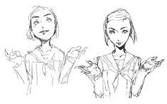 Yumi Ozawa Sketches