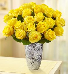 Sunshine Roses, perfect for any setting, to ensure lasting beauty roses arrive in bud form, ready to bloom in a few days! $39.99-$69.99