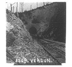 WW1, 1916, Battle of Verdun, Tunnel de Tavannes.