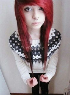 We've gathered our favorite ideas for Red Scene Hair Scene Hairstyles Emo Hair Red Scene, Explore our list of popular images of Red Scene Hair Scene Hairstyles Emo Hair Red Scene in emo girl with orange hair. My Hairstyle, Pretty Hairstyles, Girl Hairstyles, Scene Hairstyles, Amazing Hairstyles, Indie Scene Hair, Red Scene Hair, Sisterlocks, Cute Emo Girls