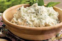 Monsieur Cuisine fácil: Paté de Requesón y Hierbabuena