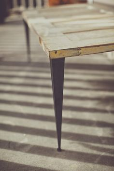 30 Tapered Angle Iron Legs by ModernLegs on Etsy, $26.00