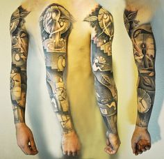 Arm Tattoo Designs - 60 Awesome Arm Tattoo Designs  <3 <3