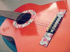 Washi tape guitar.