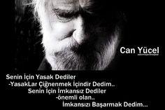 Can Yücel'in Deniz Gezmiş için yazdığı şiiri: Bizim Deniz - Mare Nostrum En uzun koşuysa elbet Türkiye'de de Devrim O, onun en güzel yüz metresini koştu En