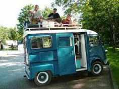 Other Cool Campers – The Citroen HY or H Van – toyota chinook
