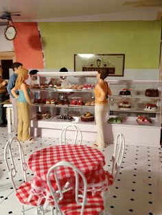 Jocelyn's Mountfield Dollhouse: Search results for bakery