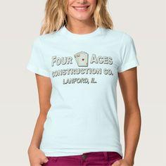 Four Aces Construction Co T Shirt, Hoodie Sweatshirt