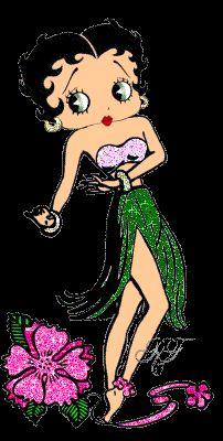 Hawiian Betty Boop