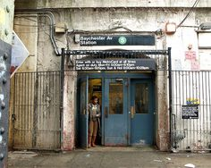 Baychester Avenue Subway Station, Bronx, New York City .......   Yikes!!!