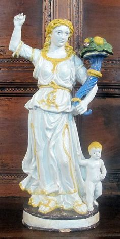 Bottega Giovanni della Robbia - Abbondanza  -  Museo Stefano Bardini - Firenze