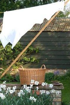 """ Fresh Farmhouse"" by "" Karen Barlow "" Country Farm, Country Life, Country Girls, Country Living, Laundry Drying, Doing Laundry, Laundry Art, Laundry Basket, Vive Le Vent"