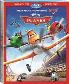 Disney's Planes movie on blu-ray disc and DVD. #disneyplanes #planes #disneymovies